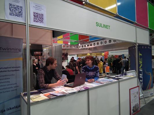 Sulinet stand az Educatio kiállításon