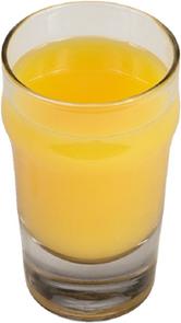 Egy pohár narancslé fotója