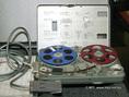 Nagra SN típusú hangrögzítő az orsós magnók múzeumában Terényben