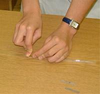 Üvegtechnika - Üvegcső vágása1