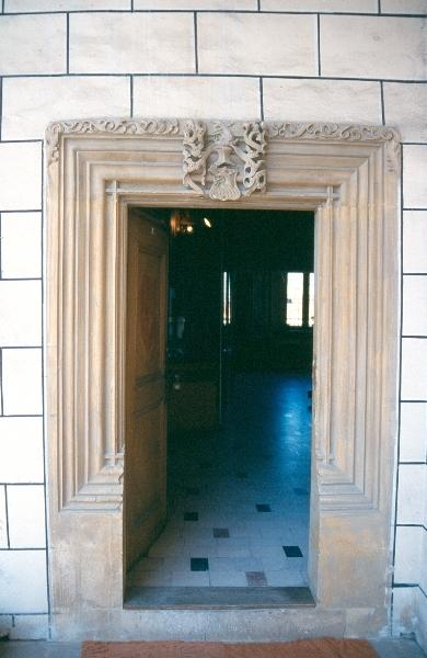 A nagyszebeni városháza reneszánsz ajtókerete