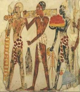 Falfestmény, Núbia