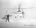 Hófúvás miatt az Országos Mentőszolgálat helikoptere szállítja a súlyos betegeket a Dél-Alföldön