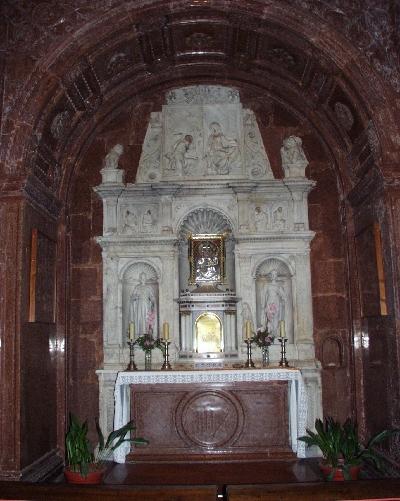 Az esztergomi Bakócz kápolna oltára