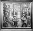 Vén Emil Japán kávéház című festménye