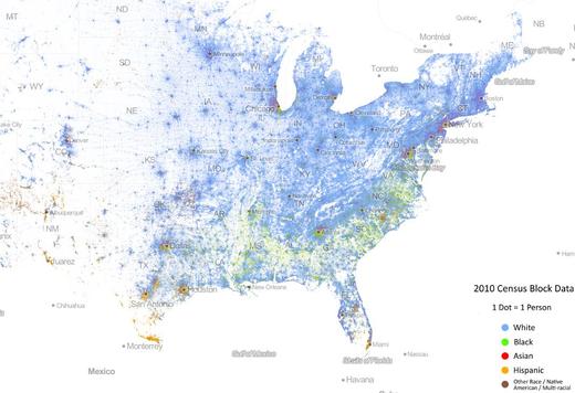 USA-rasszok-térképen