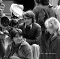 Mészáros Márta, Koltai Lajos és Czinkóczi Zsuzsa az Anyahajó c. film forgatásán