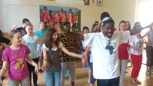 Afrikai-tánc -Afrika-Napok