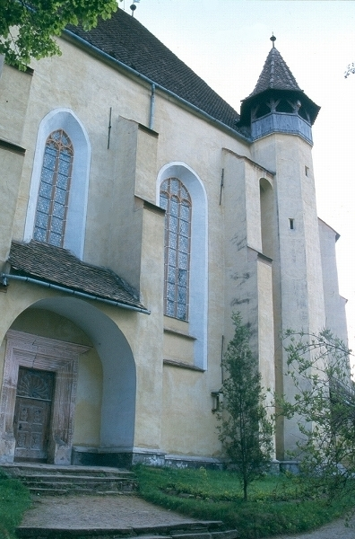 A berethalmi templomvár északi oldala