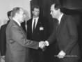 F. Mitterrand és Medgyessy Péter