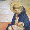 Szerzetes a kolostorban