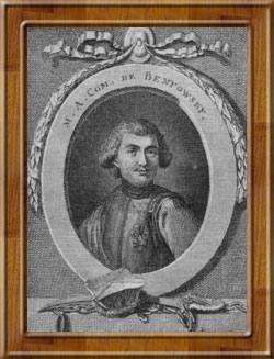 Benyovszky Móric portréja