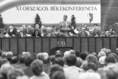 XI. országos békekonferencián Dr. Sztanyik B. László elnöki megnyitója