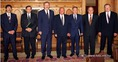 Fogadás a parlamenti pártok vezetőinek