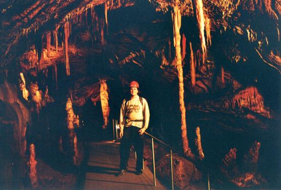 Barlang az Aggteleki Nemzeti Parkban