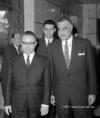 Kállai Gyula és kísérete az Egyesült Arab Köztársaságban
