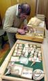 Varga András a csigák és kagylók gyűjtője, kutatója Gyöngyösön