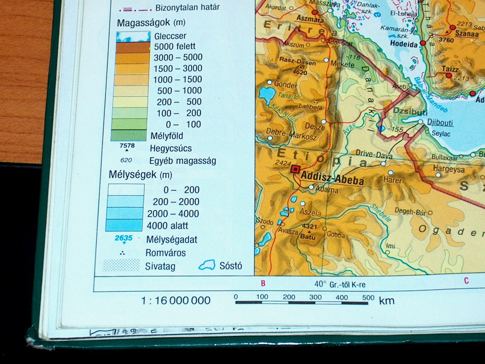 tengerszint feletti magasság térkép Ember a természetben   5. osztály | SuliTudásbázis tengerszint feletti magasság térkép