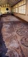 A savariai helytartói palota dísztermének mozaikja