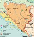Az annektált Bosznia-Hercegovina