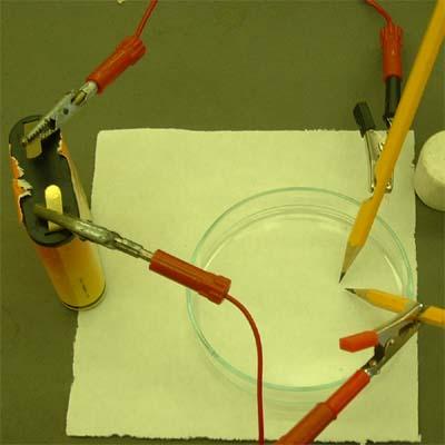 Elektrolízis ceruzákkal - Kép2
