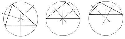 Háromszög köré írható kör