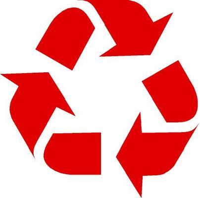 Az újrahasznosított termék jele