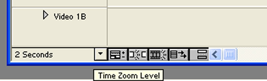 Time zoom level