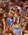 Michelangelo: Az ítélkező Krisztus