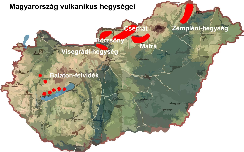 magyarország térkép mátra Ember a természetben   5. osztály | SuliTudásbázis magyarország térkép mátra