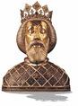 Szent László fejereklyetartója
