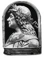 Gian Christoforo Romano (?): Mátyás király dombormű