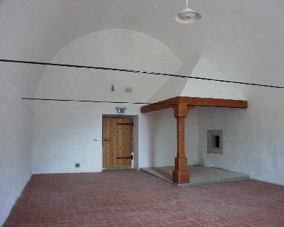 A visegrádi királyi palota konyhája