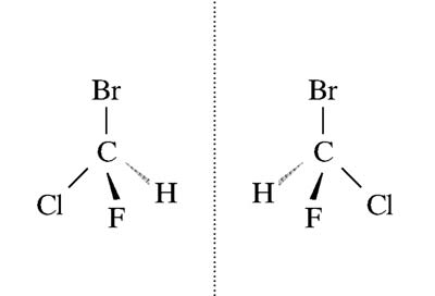 A királis molekula