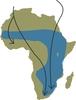 A fehér gólyák vonulási útvonalai