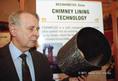 Kecskeméti Géza aranyérmet szerzett az utólagos kéménybélelési rendszerrel a brüsszeli Eureka innovációs világkiállításon