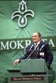 A Magyar Demokrata Fórum (MDF) VI. országos ülésén Fónay Jenő beszél