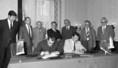 Magyar-szovjet kereskedelmi szerződés aláírása