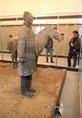 Kínai agyaghadsereg kiállítása a Nemzeti Múzeumban