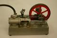 Gőzgép működő modellje