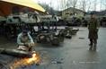 Harckocsik megsemmisítése Gödöllőn