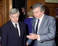 Antall József és Milan Kucan találkozója