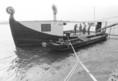 Halászbárka a Dunán