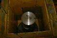Talajminta radioaktivitásának mérése nagytisztaságú germánium-detektorral, a természetes háttérsugárzást leárnyékoló ólomfalak között