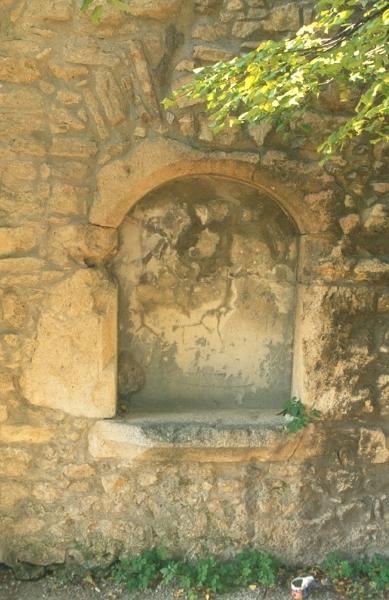 A várpalotai várkastély - ablakkeret