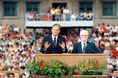 Billy Graham a Népstadionban