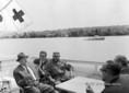 Fidel Castro a Balatonnál