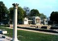 Romterület és múzeumépület Aquincumban