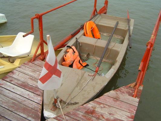 Vízimentő csónak