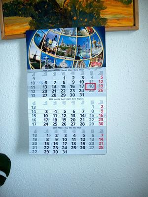 Hónapok a naptárban